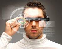 Mężczyzna w wirtualnym świecie